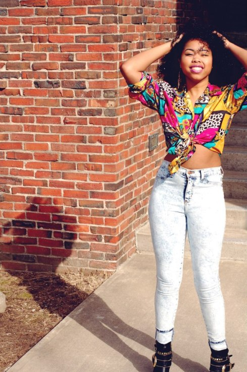 Niani Tolbert Thrift Shop top TheFiercefantasy